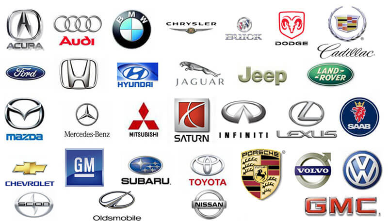 auto maker logos
