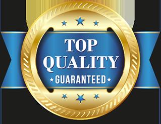 top quality guaranteed